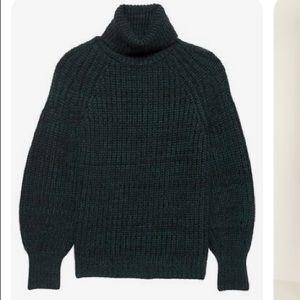 NWT! Banana Republic Chunky Cashmere TNeck Sweater